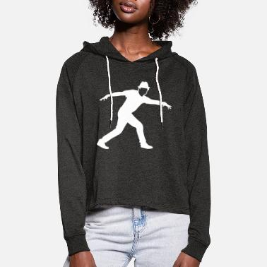 Male dancer - Women's Cropped Hoodie