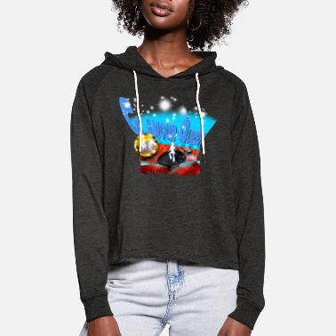 Glamour Glamour Queen - Vrouwen Cropped Hoodie