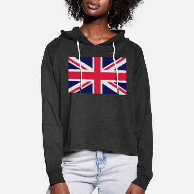 British Flag British Flag - Women's Cropped Hoodie