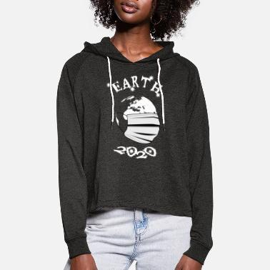 Earth 2020 - gift - Women's Cropped Hoodie
