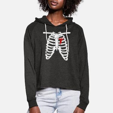 Body body building - Women's Cropped Hoodie