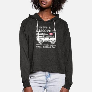 Discovery Landy Discovery - Sweat à capuche court Femme