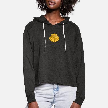 Santiago The scallop - Women's Cropped Hoodie
