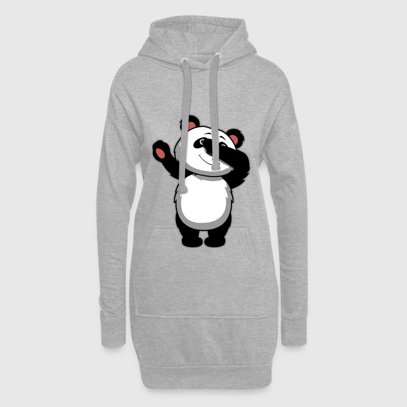 Dabbing Panda Bear - Dab Panda - Hoodie Dress