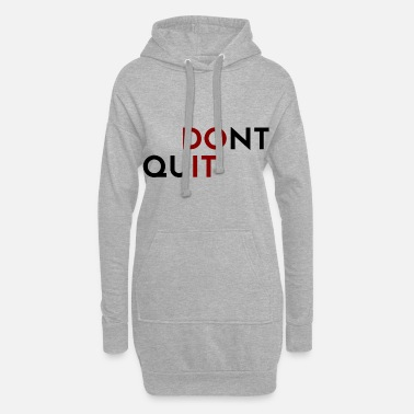 Do It Do it - Hoodie-Kleid