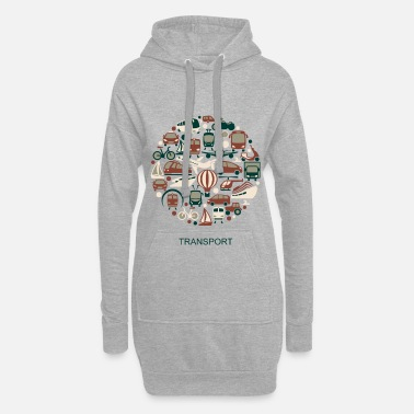 Transportation transport - Hoodie Dress