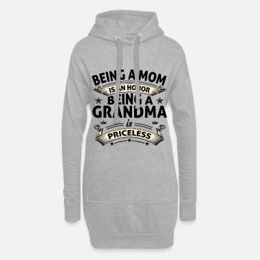 Grandma BEING A GRANDMA - Hoodie Dress