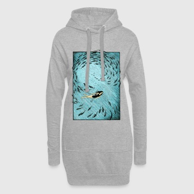 Under Water Under the water - Hoodie Dress