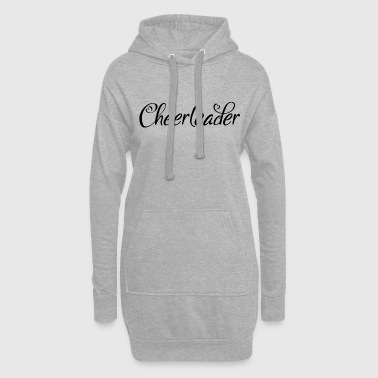 Cheerleader dans l'amour - Sweat-shirt à capuche long Femme