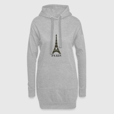 Eiffel Tower - Hoodie Dress