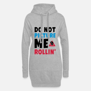 2 Pac DO NOT PICTURE ME ROLLIN - PAC - Hoodie-Kleid