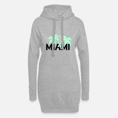 SUNSHINESTATE MIAMI in neon style - Hoodie Dress