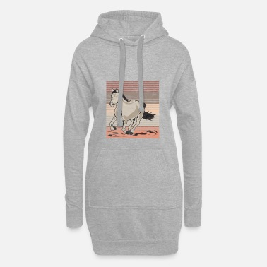Galop Horse galop Used look retro - Hoodiejurk