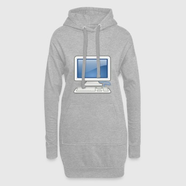 great for PC nerds or PC in love - Hoodie Dress
