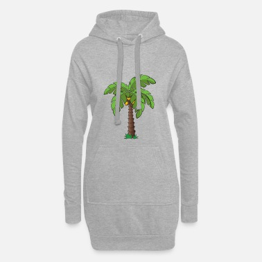 Palm Palm tree - Hoodie Dress