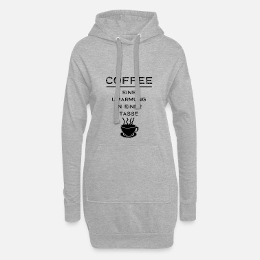 Café café - Sweat-shirt à capuche long Femme