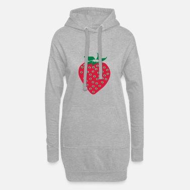 Fruit Fraise Fraise - Fraise - Fruit - Fruit - Sweat-shirt à capuche long bb3a744c442