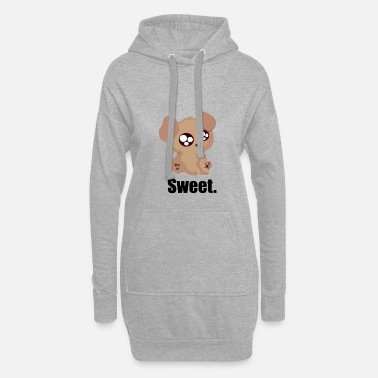 Sweet Dog Sweet Dog, sweet dog - Women's Hoodie Dress