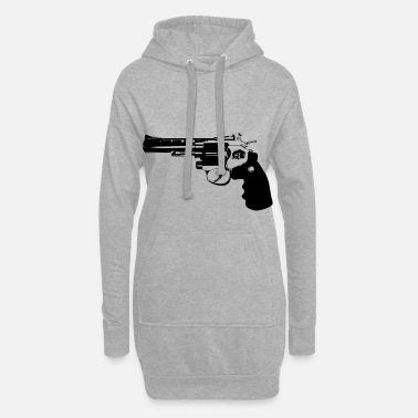 Revolver revolver - Sweat-shirt à capuche long Femme