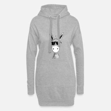 Farm Funny Ass With Cool Sunglasses I Muli I Fun - Hoodie Dress