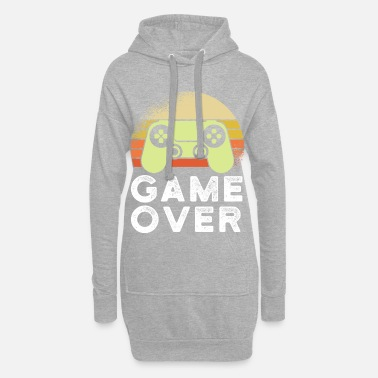 Game Over Game Over - Gamer Shirt - Hoodie kjole dame