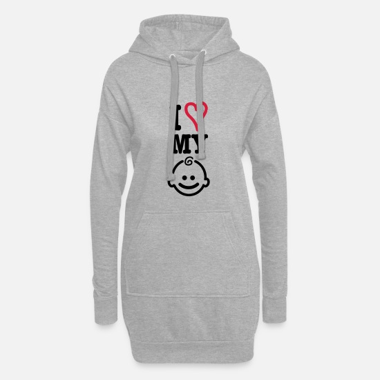 Mother Hoodies & Sweatshirts - baby - Women's Hoodie Dress heather grey