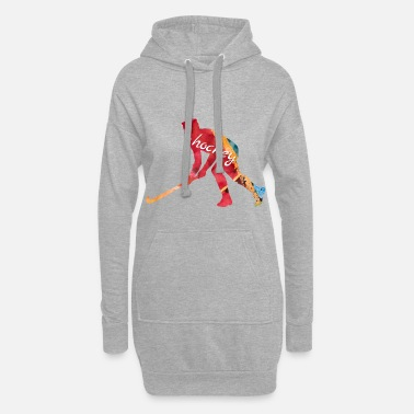 Hockey Skates Ice Hockey Skates - Women's Hoodie Dress