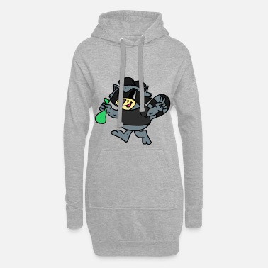 Ape Robber Ape Robber Ape - Women's Hoodie Dress