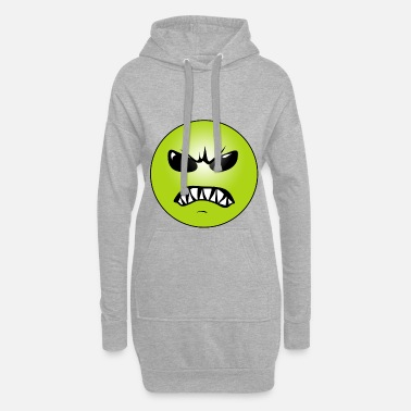 Grim Grim face - Women's Hoodie Dress