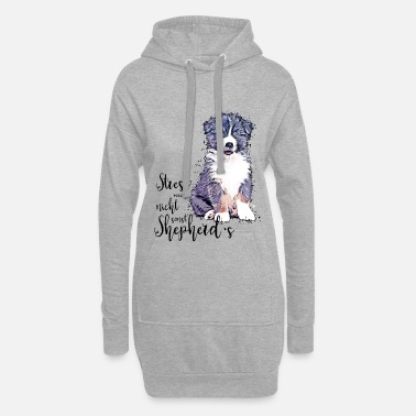 Aussie puppy - Do not stress me, otherwise shepherd's - Women's Hoodie Dress