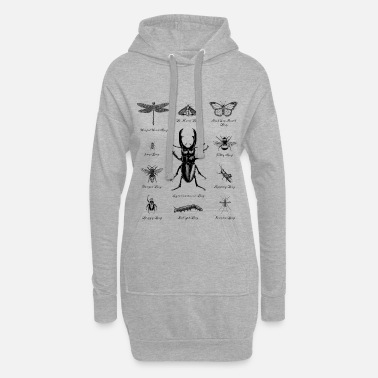 Insecte Insectes tortues - Robe sweat Femme