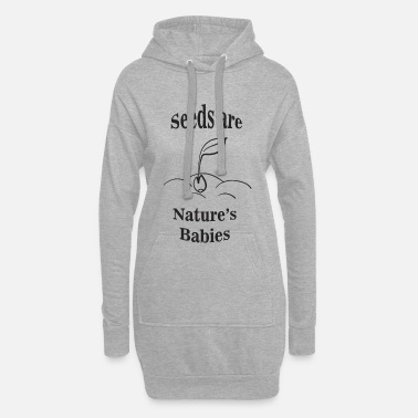 Seed seed - Women's Hoodie Dress