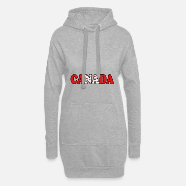 Canada Canada - Canada - Women's Hoodie Dress