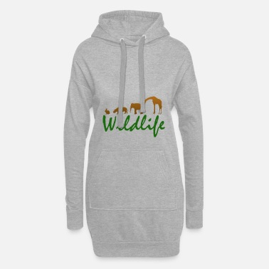 Wild Animal Parks Wild animals - wild animals - Women's Hoodie Dress