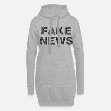 Fake Fake News Donald Trump - Robe sweat Femme