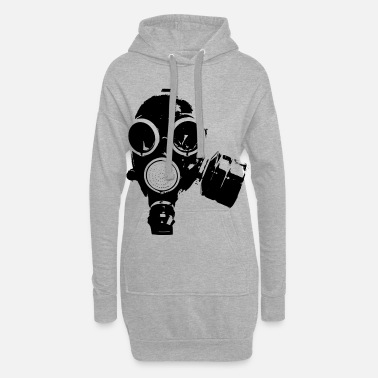 Gas Mask gas-mask - Women's Hoodie Dress