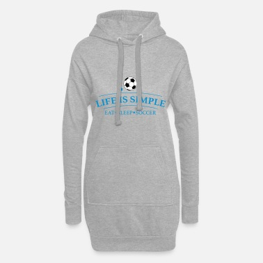 Great design for soccer players - Women's Hoodie Dress
