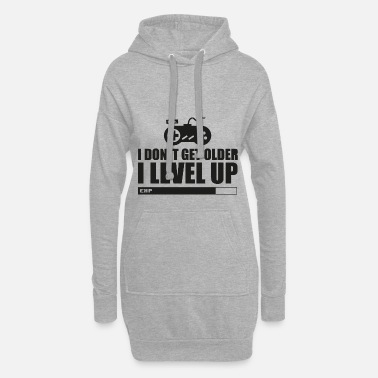 Gaming I Don t Get Older I Leve Up HARIZ Gamer Gaming Ges - Frauen Hoodiekleid