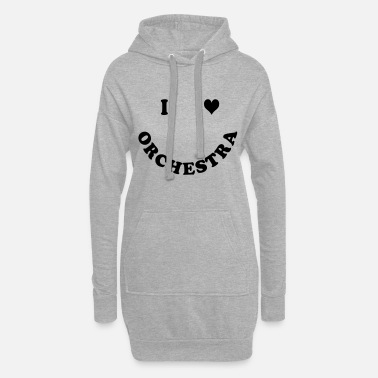 Orchestra orchestra - Women's Hoodie Dress