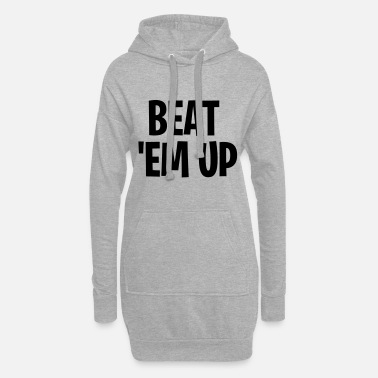Beat Em Up beat em up Victory Royale lustig cool Geschenk - Frauen Hoodiekleid