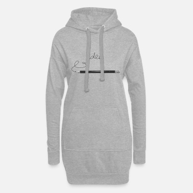 Idea IDEA - Women's Hoodie Dress