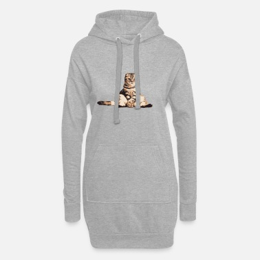 Être Assis Chat assis assis - Robe sweat Femme