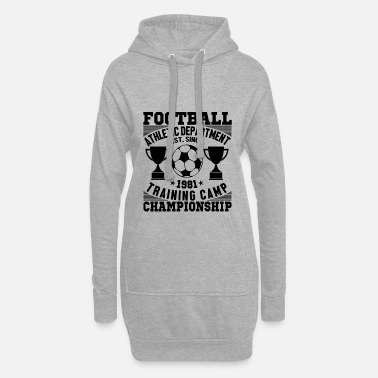 Championnats Championnat de football - Robe sweat Femme