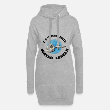 Game Gaming water level nerd geek - Women's Hoodie Dress