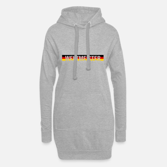 World Championship Hoodies & Sweatshirts - World Champion - Women's Hoodie Dress heather grey