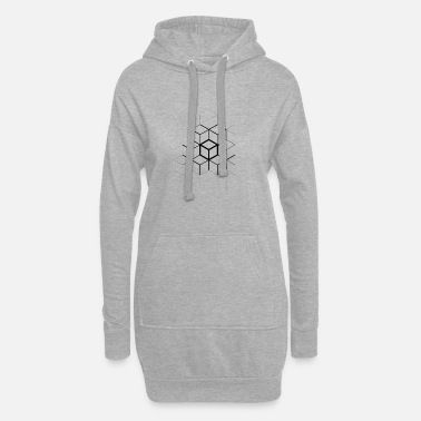 Cube CUBES - Women's Hoodie Dress