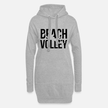 Volley beach volley - Women's Hoodie Dress