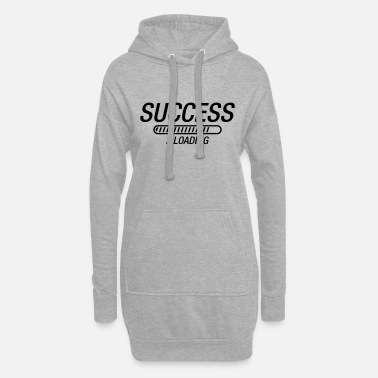 Arbeitslos success_loading_ke1 - Frauen Hoodiekleid