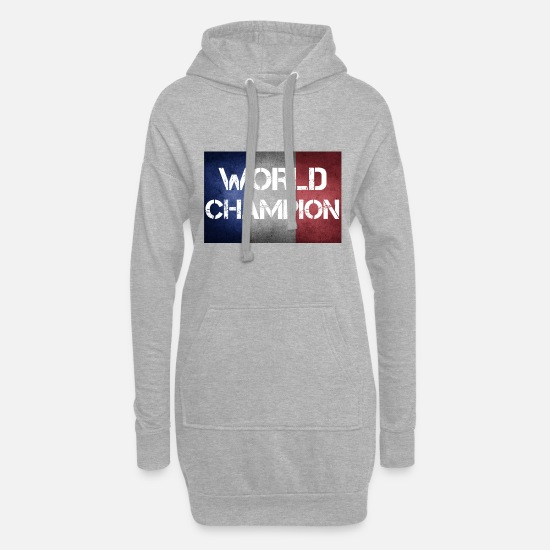World Championship Hoodies & Sweatshirts - France world champion - Women's Hoodie Dress heather grey