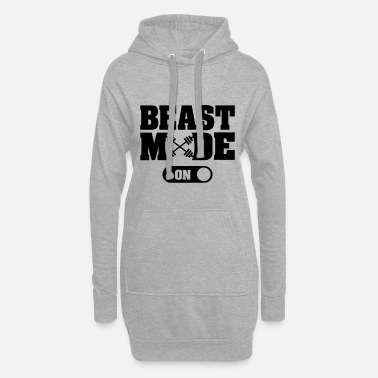 Beast Beast Activated - Vestito felpa donna